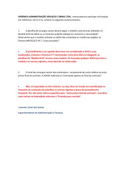 DINÂMICA ADMINISTRAÇÃO SERVIÇOS E OBRAS LTDA
