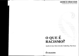 documento  - Instituto de Ciências Sociais da Universidade de