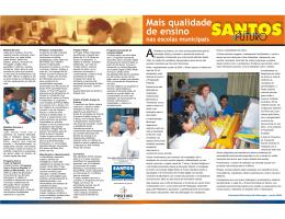 www.santos.sp.gov.br Prefeitura de Santos, por meio da Secretaria