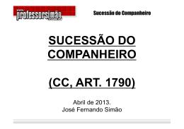 Sucessão do Companheiro - art. 1790.ppt (Read