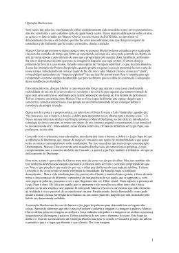 Operação Duchaviana. Marcio Doctors, 2013.