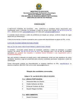 lista de exames médicos para posse relação de documentos