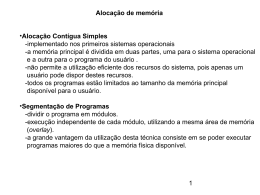 Gerência de memória-2