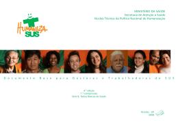 HumanizaSUS: Documento base para gestores e trabalhadores do
