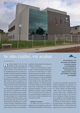 Judiciário Sustentável - Página 2 - Tribunal de Justiça do Estado do