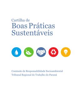 Boas Práticas Sustentáveis - Portal de Compras do Governo