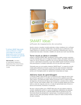 SMART Ideas™ software de mapeamento de conceitos