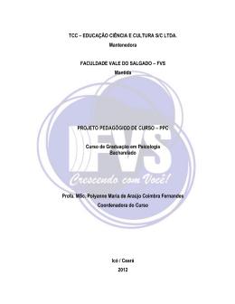TCC – EDUCAÇÃO CIÊNCIA E CULTURA S/C LTDA