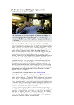Entrevista Jornal Estado de Minas