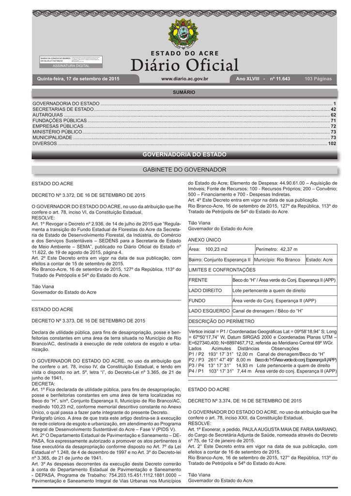 DOE AC - Prefeitura Municipal de Senador Guiomard 2c6e8feb24