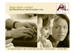 AQ Projetos - Crea-RJ