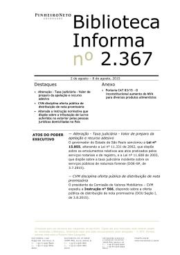 BI 2.367 - Pinheiro Neto Advogados