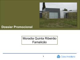 Dossier Promocional Moradia Quinta Ribeirão