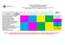 Cronograma 5 p. Matutino