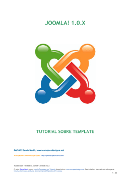 Joomla Template Tutorial