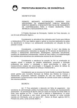 PREFEITURA MUNICIPAL DE DIVINÓPOLIS