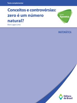 Conceitos e controvérsias: zero é um número natural?