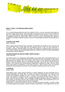 """O CASTELO DE VIDRO Walls, Jeannette """"Filha, a gente não tem"""
