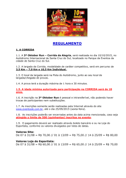 REGULAMENTO - LE Eventos
