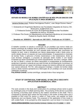 ESTUDO DO MODELO - Centro Científico Conhecer