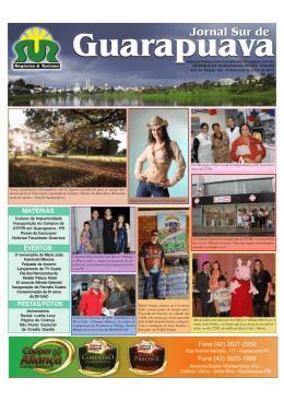 jornal 159.pmd - Jornal Sur Guarapuava