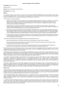 Processo Administrativo CVM nº SP 2009/198 Interessados: Edson