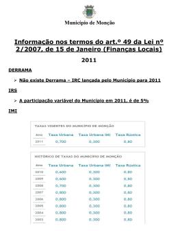 2011_Derrama_IRS_IMI_Informação nos termos do art.º 49º da Lei
