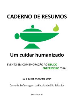CADERNO DE RESUMOS - Faculdade São Salvador