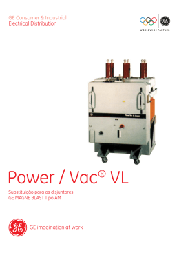 Power / Vac® VL - GE Sistemas Industriais