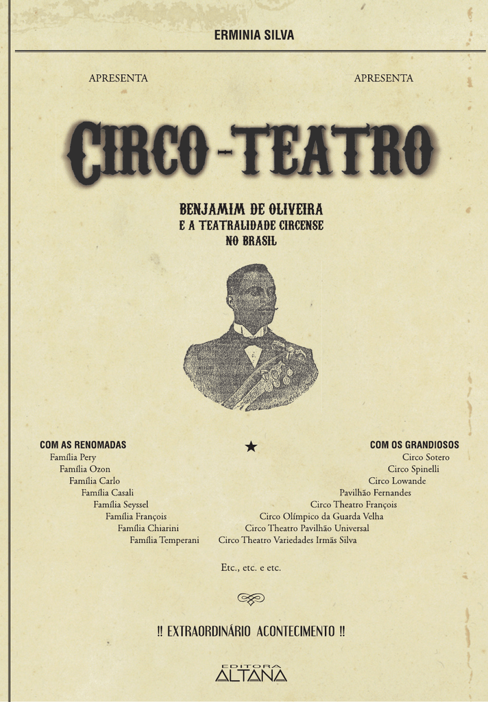 Circo-teatro Benjamim 76d6bee299b