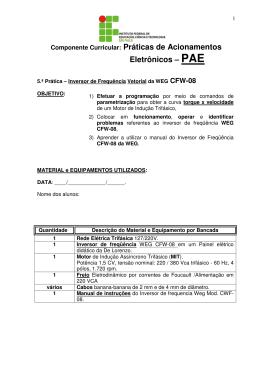 5ª Aula_PRATICA COM INVERSOR DE FREQUENCIA