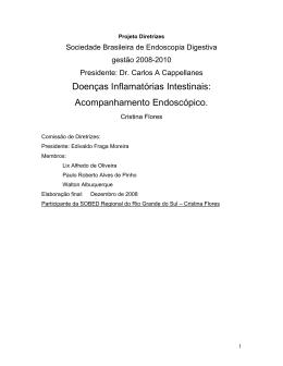 Doenças Inflamatórias Intestinais: Acompanhamento