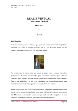 Real e virtual_Abril2013