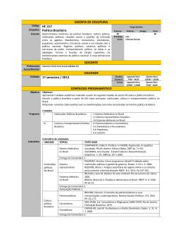 HC317 - Setor de Ciências Humanas