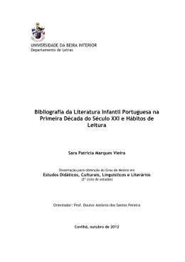 TESE SARA VIEIRA - uBibliorum