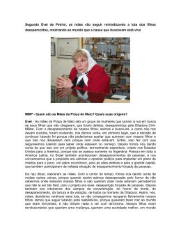 Evel de Petrini mais mulheres - Secretaria de Políticas para as