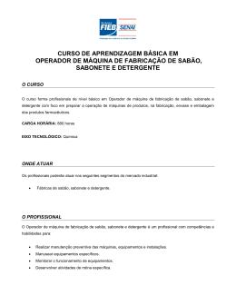 DESCRITIVO DE CURSO