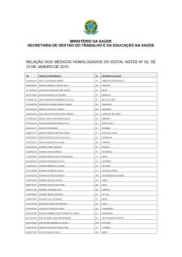 ministério da saúde secretaria de gestão do trabalho e da educação