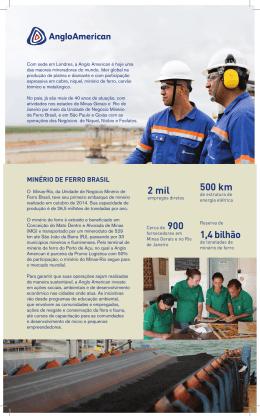 Fact Sheet Exposibram - Anglo American Brasil