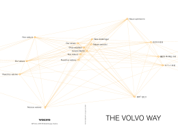 The VolVo WAy