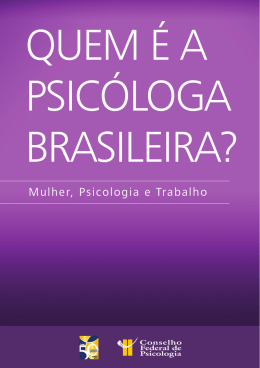 Psicóloga brasileira? - BVS Psicologia Brasil