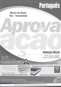 Português - Curso Aprovação