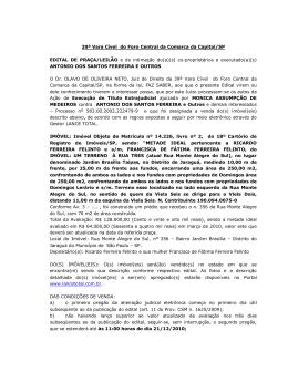39ª Vara Cível do Foro Central da Comarca da Capital