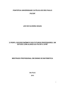 pontifícia universidade católica de são paulo puc/sp levi de oliveira
