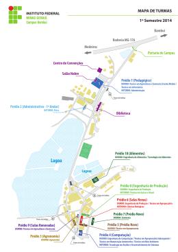 Clique aqui e acesse o Mapa de Salas e a
