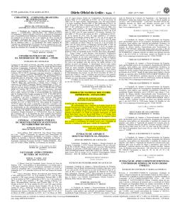 ISSN 1677-7069 - Confederação Brasileira de Clubes