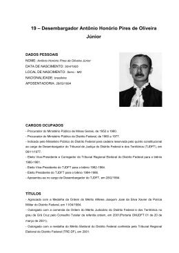 2e68618f241f7 Desembargador Antônio Honório Pires de Oliveira Junior