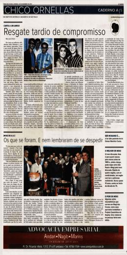 30-12-2007 - Chico Ornellas
