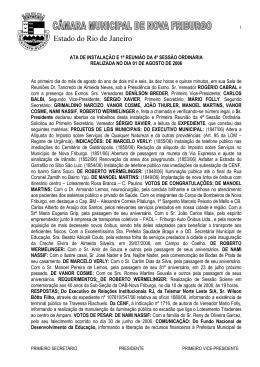 Estado do Rio de Janeiro - Câmara Municipal de Nova Friburgo
