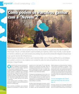 Especial sobre Cloud Computing